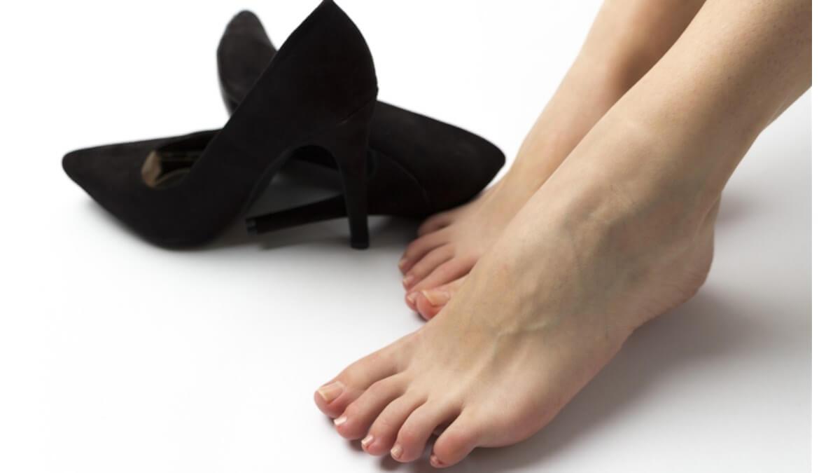 パンプスは靴擦れしやすい