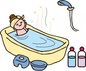 入浴で冷えを防ぐ